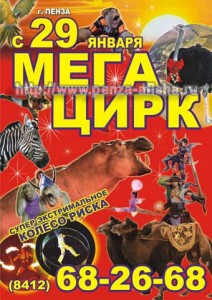 "Цирковая программа ""МЕГАЦИРК"""