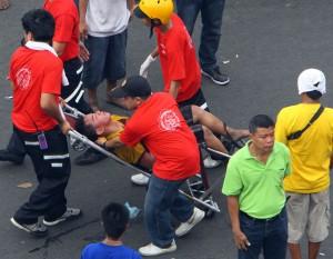 В филиппинском цирке взорвали гранату
