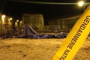 Во Франции на посетителей цирка рухнул купол